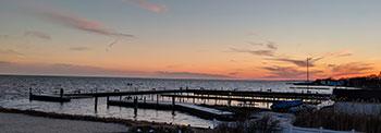 View of Sayville Long Island coast from Riegler & Berkowitz Sayville Personal Injury Attorneys